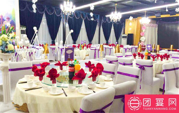 西安国秀新苑婚宴图片
