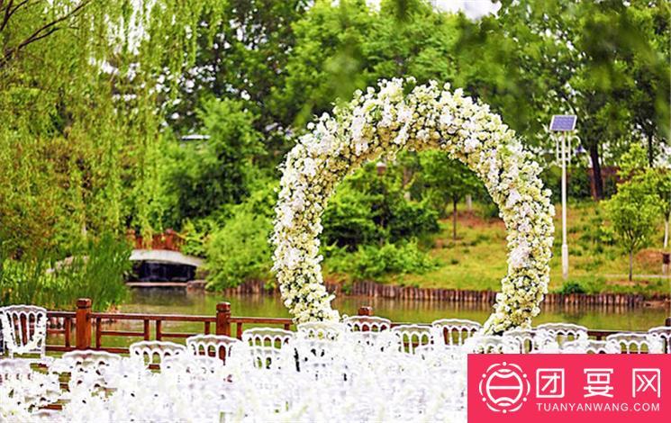 喜庆堂婚礼庄园婚宴图片