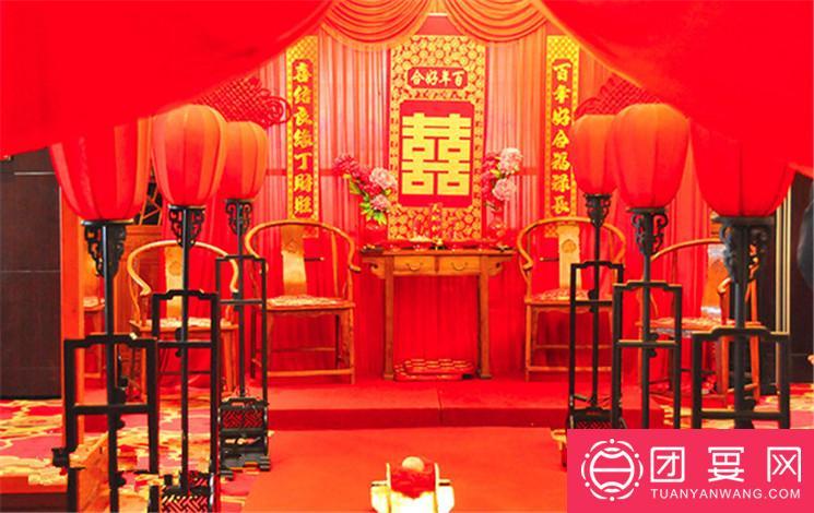 威龙饭店婚宴图片