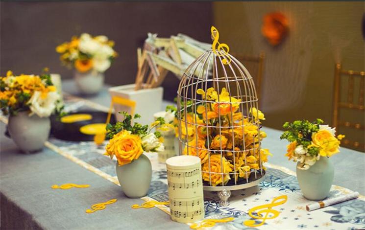 雪霁山庄婚宴图片