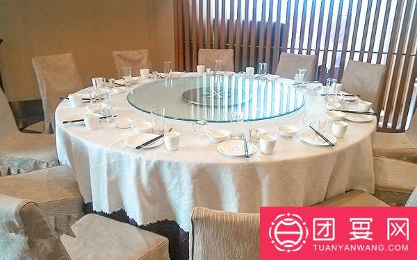 旻园御膳饭庄婚宴图片