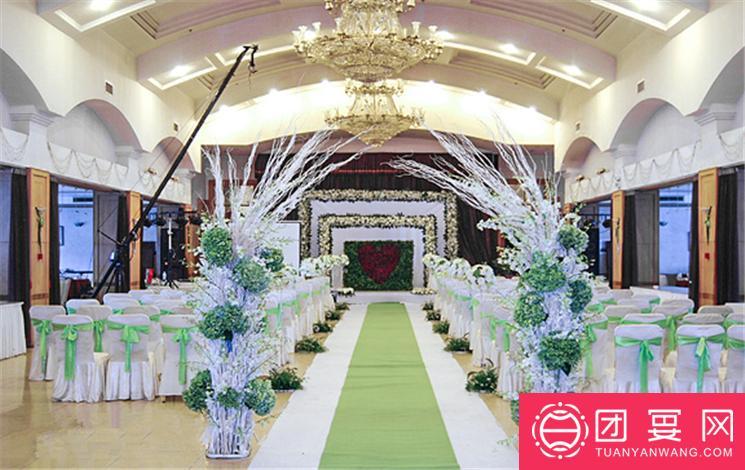 北方温泉会议中心婚宴图片