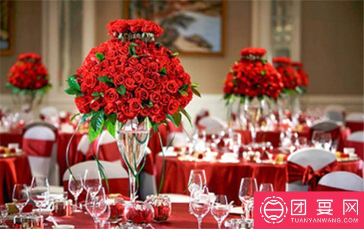 西安曲江国际会议中心婚宴图片