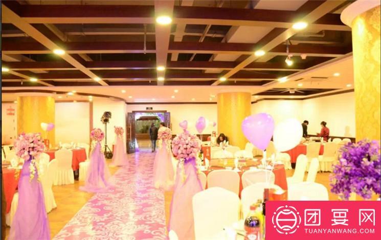 锦江大酒店花水木餐厅婚宴图片