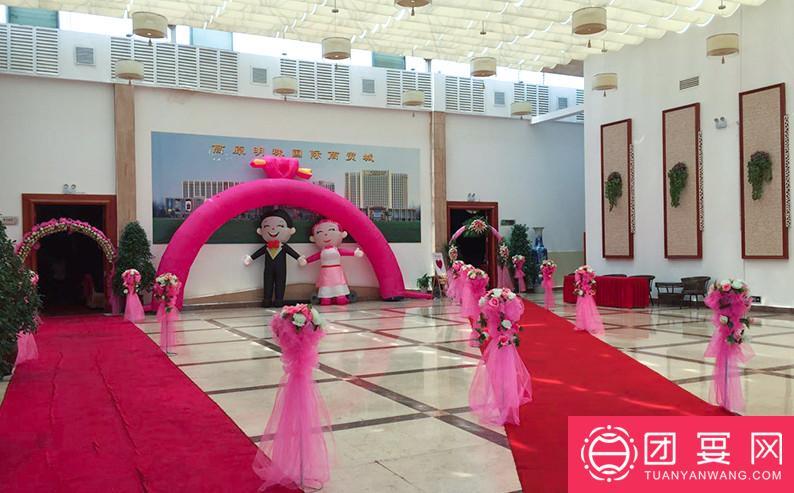 苏州希尔顿逸林酒店婚宴图片