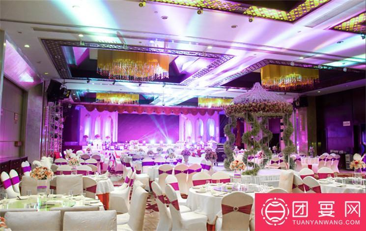昆山美高美国际酒店婚宴图片