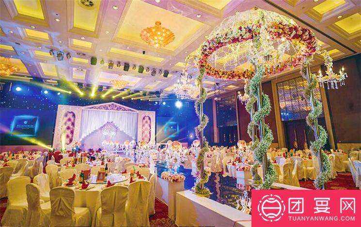 浙江三立开元名都大酒店婚宴图片
