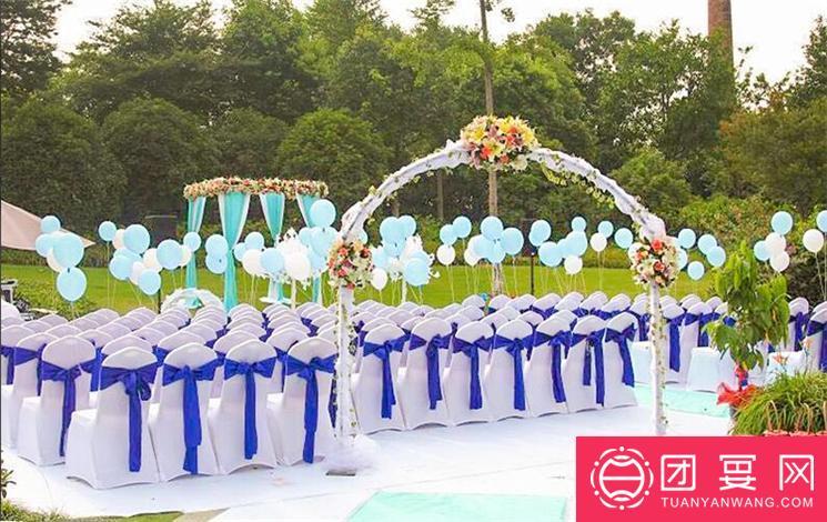 河之洲花园餐厅婚宴图片