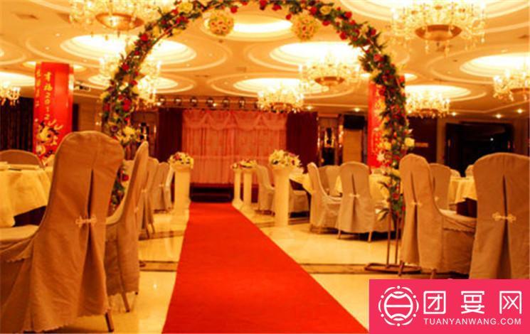 群乐饭店婚宴图片