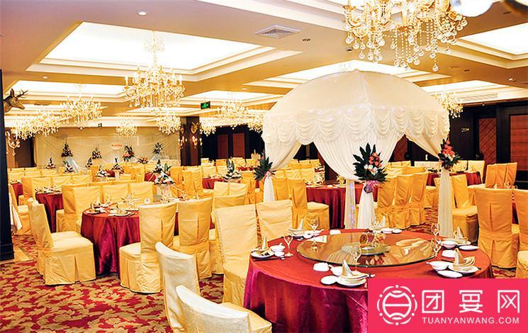 丁速棕榈湾大酒店婚宴图片