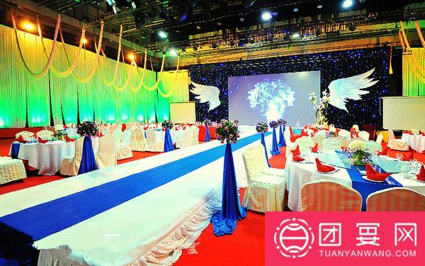 世纪盛业中苑大酒店婚宴图片
