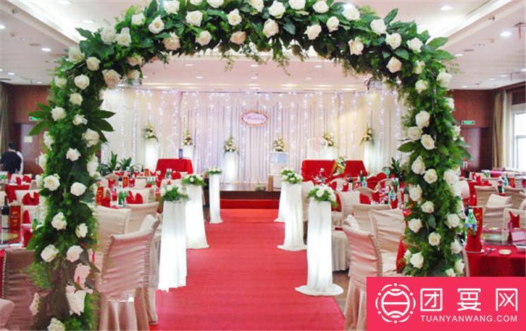 南京群贵汇白马国际会所婚宴图片