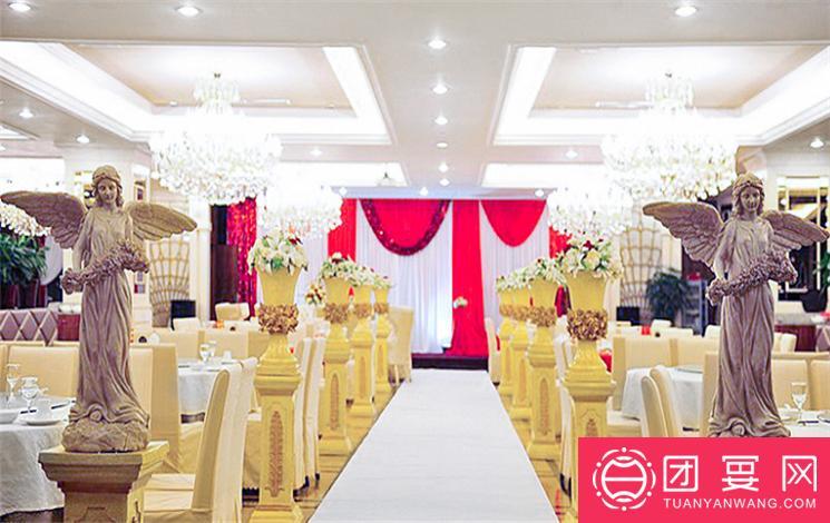 沪茗轩酒楼婚宴图片
