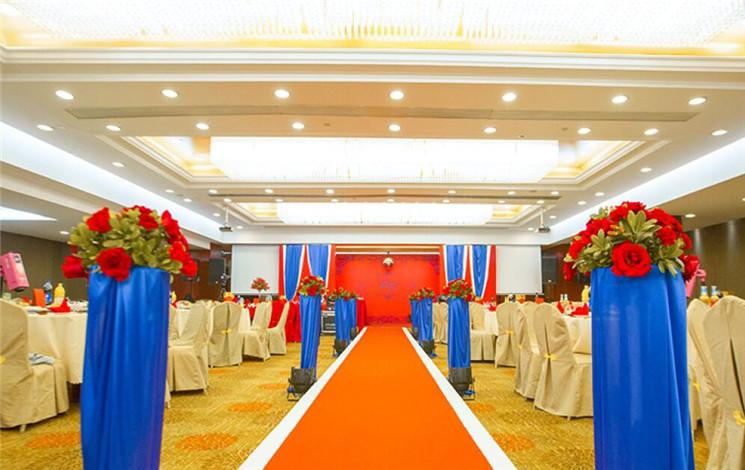 杭州百合花饭店婚宴图片