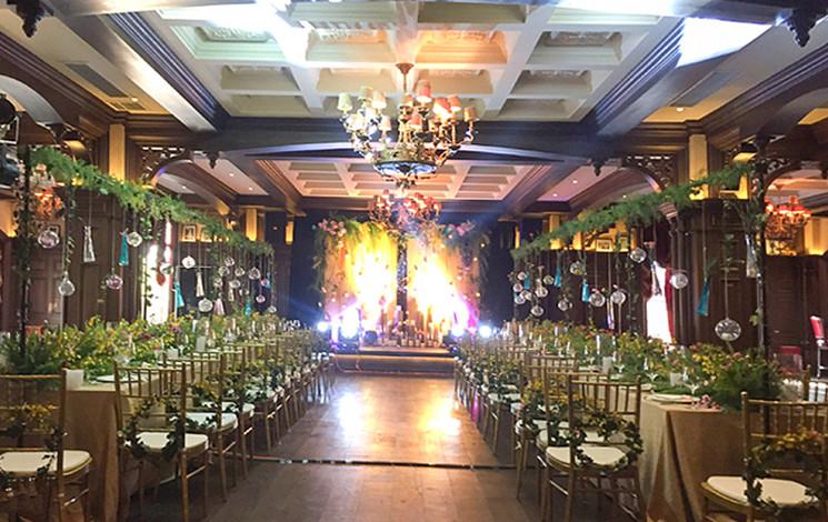 杭州萧山老约烩饭店婚宴图片